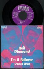 "NEIL DIAMOND - I'M A BELIEVER Very rare 1970 german 7"" P/S Single Release!"