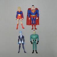 JUSTICE LEAGUE UNLIMITED Superman Supergirl Livewire DC Universe Action Figure