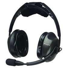 PilotUSA PA-2170BLU Passive General Aviation Headset w/Blulink & Headset Bag
