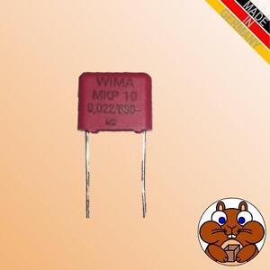 1x Kondensator 22nF 630V WIMA MKP10 Yamaha YSP Verstärker Netzteil Reparatur