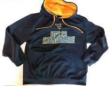 WVU West Virginia Mountaineers Majestic YOUTH LARGE Navy Sweatshirt