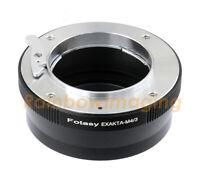 Exakta Auto Topcon Lens to Micro 4/3 Adapter Olympus E-M5 Mark II E-M10 OM-D