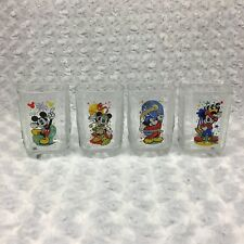 Walt Disney World Mickey Mouse 2000 Celebration Collectible Park McDonalds Glass