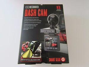 "SMARTGEAR STG-6256MX 2.5"" HD RECORDING DASH CAM. BLK NEW"