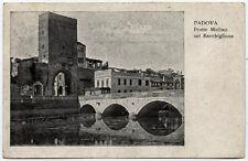 cartolina PADOVA ponte mulino sul bacchiglione