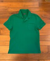 Men's Tom Ford TF GREEN•Polo Shirt Pocket sz 52 Excellent Cond•FRESH DRY CLEANED