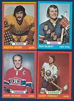 HENRI RICHARD 73-74 TOPPS 1973-74 NO 87 EXMINT  7355