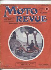 Moto Revue N°82 : 15  aout 1921 , la 3 1/2 HP SUNBEAM , le bi-car Mégola