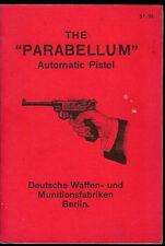 Stoeger Luger Parabellum Semi Auto Pistol 1964 Orig Factory Owner's Manual
