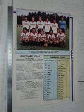 CLIPPING POSTER FOOTBALL 1979-1980 LILLE OSC LOSC DOGUES GRIMONPREZ-JOORIS