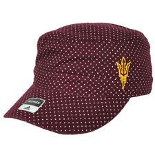 NCAA Adidas Arizona State Sun Devils Y493W Military Womens Snapback Hat Cap Dots