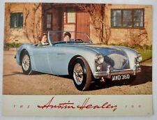 1954 Austin Healey 100 Original North America Sales Brochure BMC