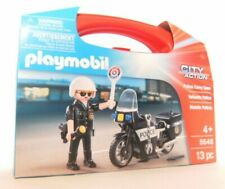 Playmobil City Action Police Carry Case 5648 Neu & OVP Polizei Motorrad Koffer