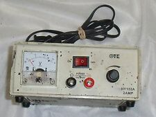 OTE HY-152A Variable Analog Display DC Power Supply 1.5 -15 V @ 2A & Foot Pedal