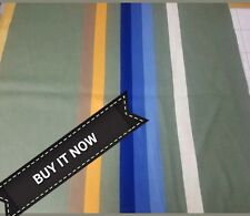"""BUY IT NOW PENDLETON WOOLEN MILL  BLANKET WEIGHT WOOL REMNANT 34""""×32"""" NEW FABRIC"""
