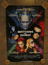 Batman and Robin Movie Poster - 1997 - Single-sided One Sheet Movie Poster