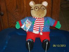 Eden Gifts Marc Brown'S Winter Ice Skating Arthur Aardvark Plush