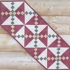 Twist and Turn table runner pattern by Cotton Tales