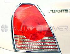 Chrome Rear Light Lamp Cover For 01 06 Hyundai Elantra