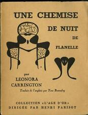 Une Chemise de Nuit de Flanelle LEONORA CARRINGTON Max Ernst Print Lt.1/500 1951
