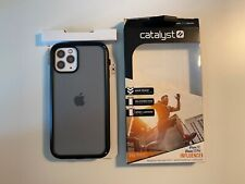 Catalyst iPhone 12 Pro Influence Case Stealth Black