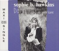 Sophie B. Hawkins ‎Maxi CD Damn I Wish I Was Your Lover - Europe (EX+/EX)