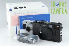Zeiss Ikon ZM 35mm Rangefinder Camera In Black With Box #14585F1
