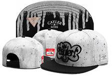 New Hot Hip Hop Men's CAYLER Sons Cap adjustable Baseball Snapback Black hat 3#