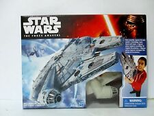 STAR WARS The Force Awakens Millennium Falcon Hasbro Disney 2015 Mint In Box