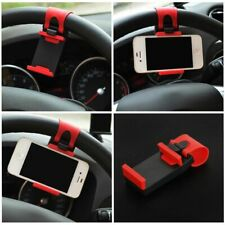 Car Phone Holder Steering Wheel Mobile GPS Mount Universal iPhone Samsung Clip