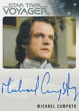 Star Trek Voyager Heroes & Villains Michael Cumpsty Autograph Card