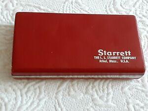 Starrett No. 700 Micrometer with Original Case