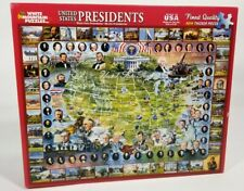 White Mountain 1000 Pc Jigsaw Puzzle United States Presidents Election USA Map