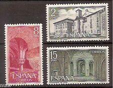 Spain Edifil # 2229/2231 ** MNH set. Monasterio de Leyre