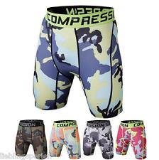 Herren Sport Hose Kurzhose Shorts Boxershorts Camouflage Fitness Jogging Lauf
