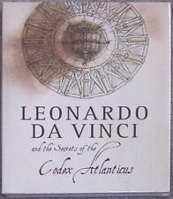 THE SECRETS OF THE CODEX ATLANTICUS by LEONARDO Da VINCI ~ HUGE ILLUS HARDCOVER