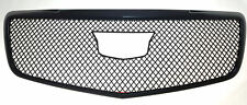 Fits 15-18 CADILLAC ATS ALL MODELS - Gloss Black Grille Insert/Overlay