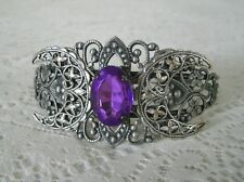 Triple Moon Cuff Bracelet, wiccan pagan wicca witch witchcraft goddess magic