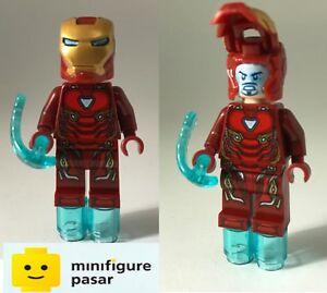 sh496 sh497 Lego Marvel Avengers Infinity War 76107 76108 - Iron Man Minifigure