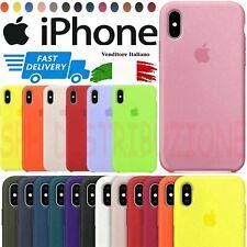 Custodia Cover Originale In Silicone Sottile Per Apple Iphone Slim Case Soft Gel