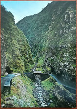 Brook of Hell, Vicnte-Seixal, Madeira, Portugal. Post Card