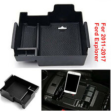 Secondary Storage Glove Pallet Center Console Trays For Ford Explorer 2011-2017