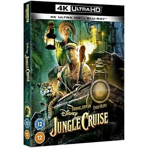 JUNGLE CRUISE 4K UHD / INCLUDES BLU RAY /  NEW AND SEALED/WORLDWIDE SHIPPING