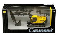 VOLVO EC210 EXCAVATOR 1/50 DIECAST MODEL BY CARARAMA 56003