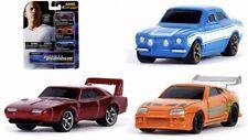 JADA TOYS Fast & Furious 3-set NANO cars / NEW - Blisterpack