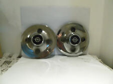 "Opel GT 1100 1900 Manta A 13"" Chrome Enjoliveur Moyeu Capuchon Moyeu Chrome 2 St."