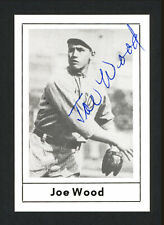 Smoky Joe Wood Autographed Signed 1978 Grand Slam Card #87 Boston Red Sox 163903
