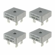 4X 50A 1000V Metal Case Single Phases Diode Bridge Rectifier KBPC5010 I8Y9