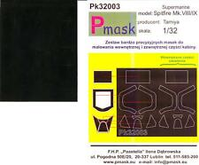 Model Maker 1/32 SUPERMARINE SPITFIRE Mk.VIII and Mk.IX Paint Mask Set Tamiya