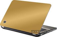 GOLD Vinyl Lid Skin Cover Decal fits HP Pavilion G6 1000 Laptop